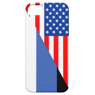united states america estonia half flag usa countr iPhone SE/5/5s case