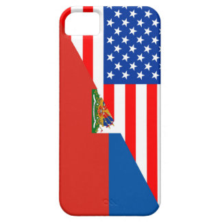 united states america haiti half flag usa country iPhone SE/5/5s case