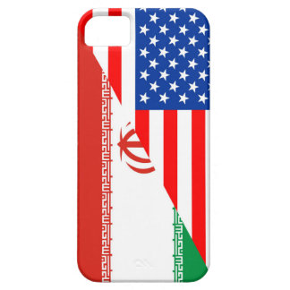 united states america iran half flag usa country iPhone SE/5/5s case