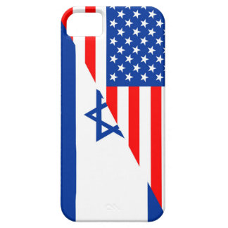 united states america israel half flag usa country iPhone SE/5/5s case