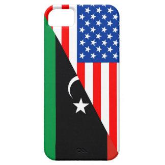 united states america libya half flag usa iPhone SE/5/5s case