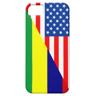 united states america mauritius half flag usa coun iPhone SE/5/5s case