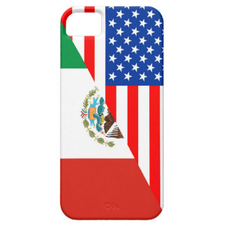 united states america mexico half flag usa country iPhone SE/5/5s case