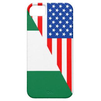 united states america nigeria half flag usa countr iPhone SE/5/5s case