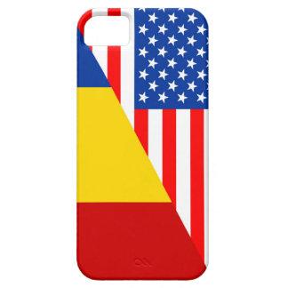 united states america romania half flag usa countr iPhone SE/5/5s case