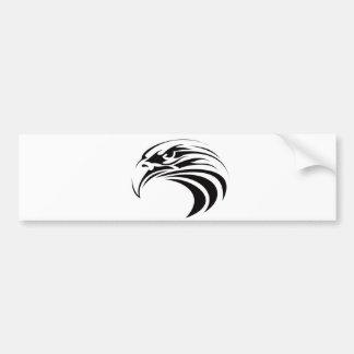 united states america symbol eagle tribal tattoo bumper sticker