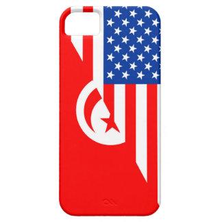 united states america tunisia half flag usa countr iPhone SE/5/5s case