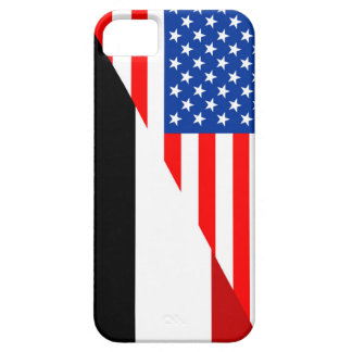 united states america yemen half flag usa country iPhone SE/5/5s case