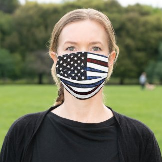 United States American Flag Cloth Face Mask
