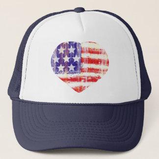 united states,american flag trucker hat