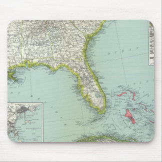 United States and Bahamas Mouse Pad