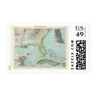 United States and Bahamas Postage