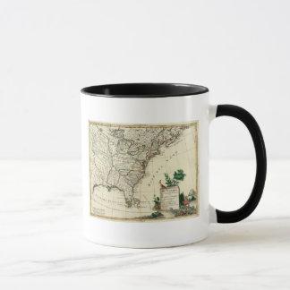 United States and Canada Mug