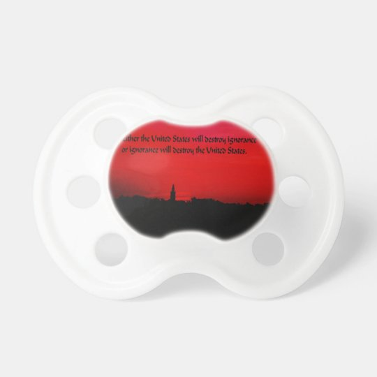 United States and Ignorance Pacifier