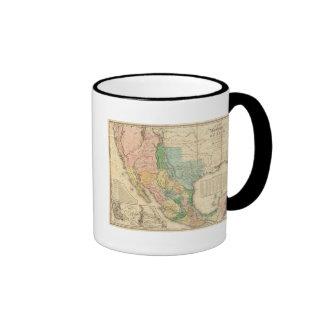 United States and Mexico Ringer Mug