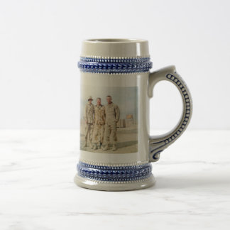 United States and Romania Beer Stein