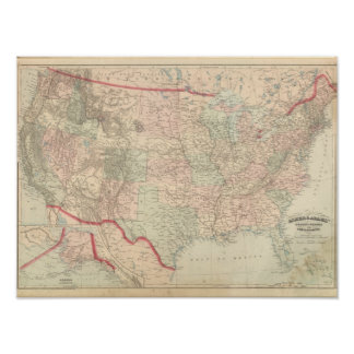 United States and Territories 2 Poster
