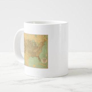 United States and Territories Extra Large Mug