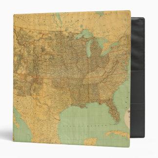 United States and Territories Vinyl Binders