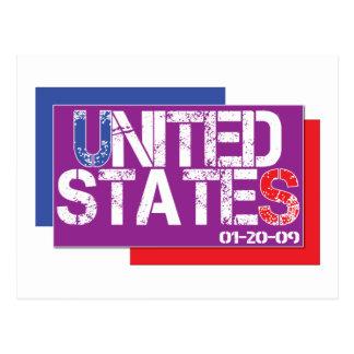 United States Are Purple Postcard