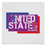 United States Are Purple Print