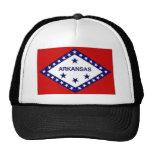United States Arkansas Flag Mesh Hat