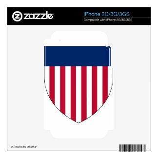 United_States_Arms Calcomanías Para iPhone 2G