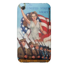 United States Army Forever iPhone 3 Case at Zazzle