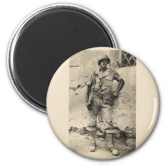 United States Army 2 Inch Round Magnet