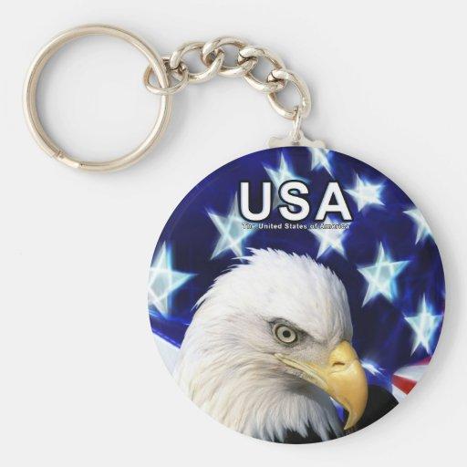 United States Bald Eagle Key-Chain Keychain