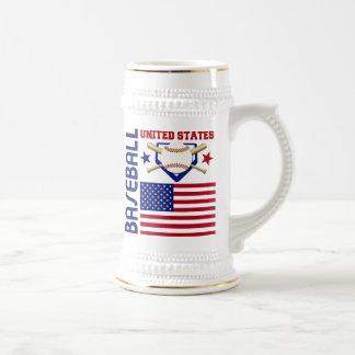 United States Baseball Mugs