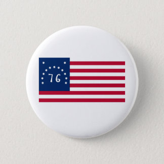 United States Bennington Flag Spirit of 76 Button