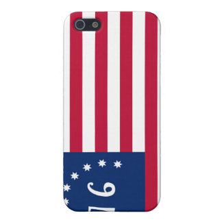 United States Bennington Flag Spirit of 76 Cover For iPhone SE/5/5s