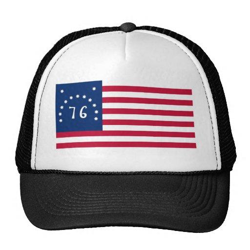 United States Bennington Flag Spirit of 76 Mesh Hat