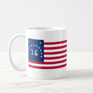 United States Bennington Flag Spirit of 76 Classic White Coffee Mug