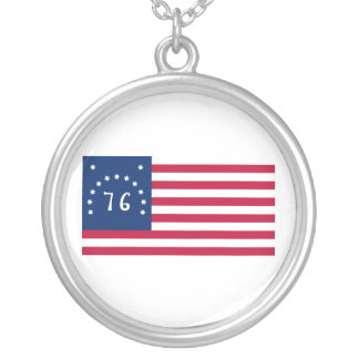 United States Bennington Flag Spirit of 76 Necklaces