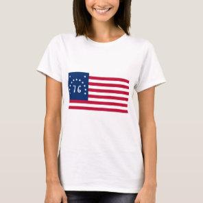 United States Bennington Flag Spirit of 76 T-Shirt