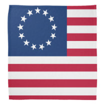 United States Betsy Ross Flag Bandana