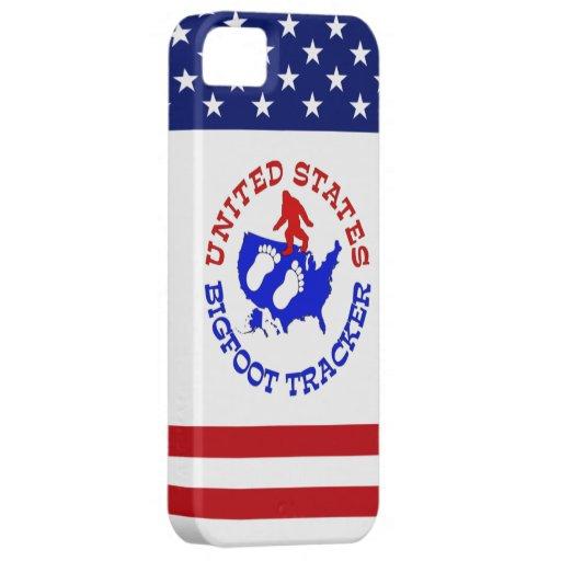 United States Bigfoot Tracker iPhone 5 Case
