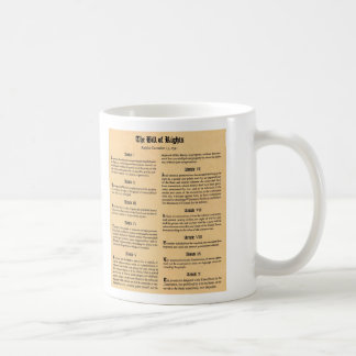 United States Bill of Rights Coffee Mug