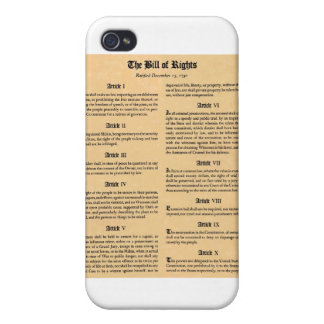 United States Bill of Rights iPhone 4 Case