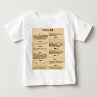 United States Bill of Rights Shirt