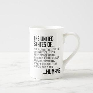 United States Bone China Mug