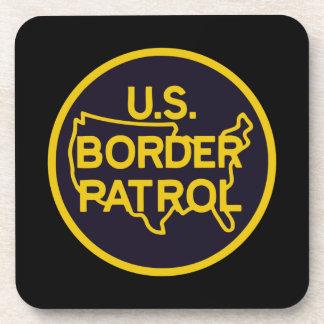 United States Border Patrol Beverage Coaster