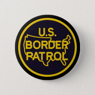 United States Border Patrol Button