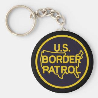 United States Border Patrol Keychain