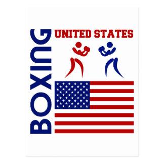 United States Boxin Postcard