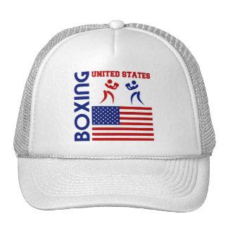 United States Boxin Trucker Hat