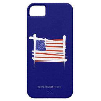 United States Brush Flag iPhone 5 Case