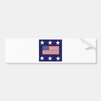 united states car bumper sticker